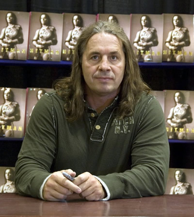Bret Hart Book Signing at MOA