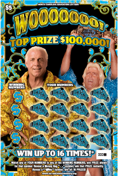 Ric Flair Wooooooo! Scratch-off Game