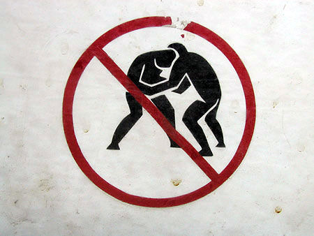 "WWE ""No Wrestling"" Policy"