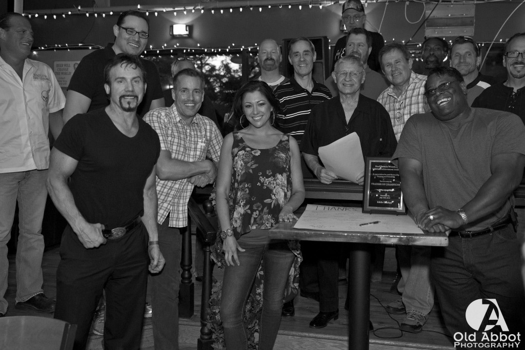 Sharkey Appreciation Group Photo B/W