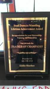 Eddie Sharkey Lifetime Achievement